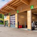 Holzhaus für Autowerkstatt in Füssen
