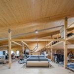 Produktionshallen aus Holz in Huglfing